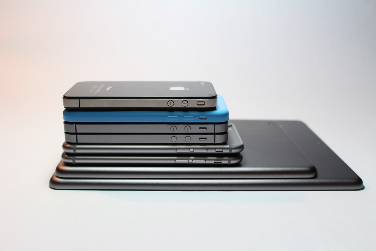 iPhones and iPads